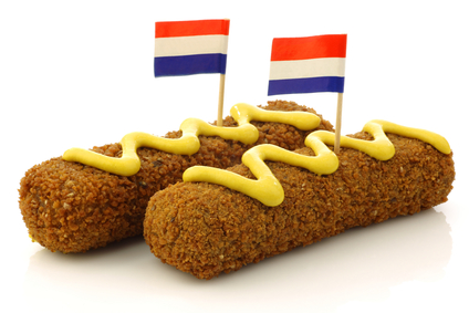 classic croquette dutch food