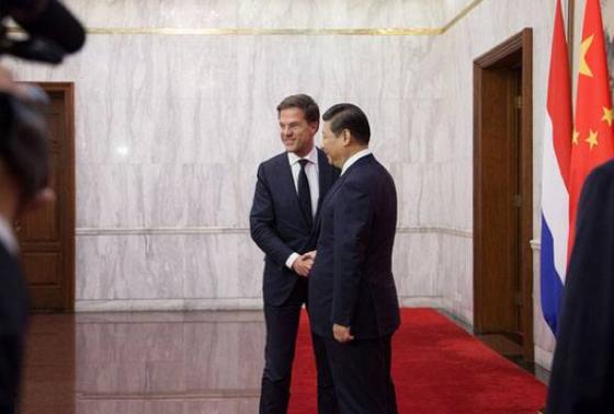 rutte in china