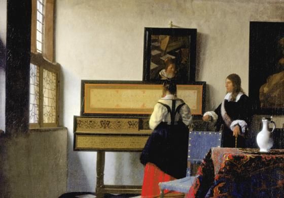 music lesson vermeer