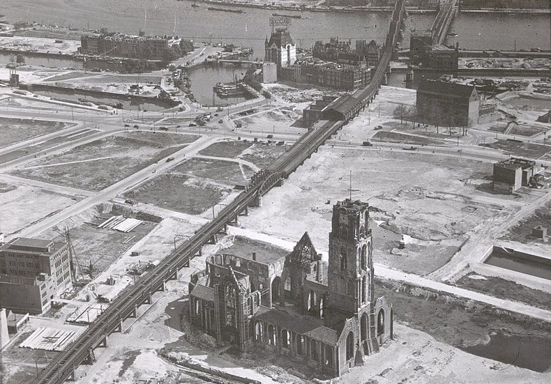 rotterdam after world war II