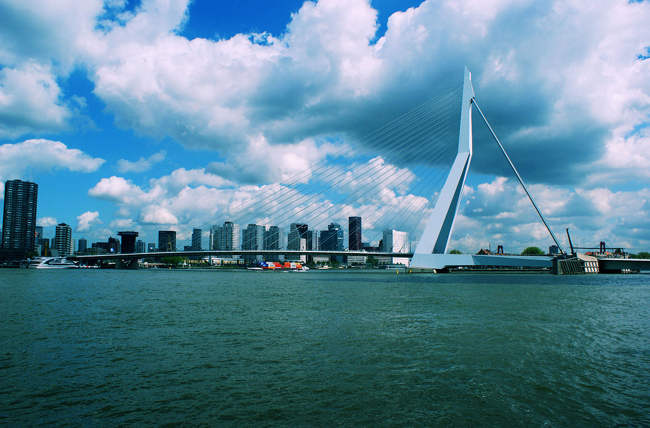 Rotterdam 12 points: port city to stage Eurovision Song Festival
