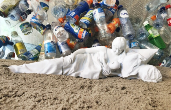 Plastic madonna