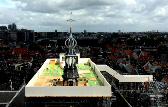 garden closest to god Oude kerk