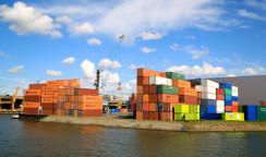 economic growth exports rotterdam port