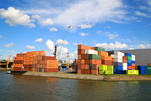economic growth exports rotterdam port