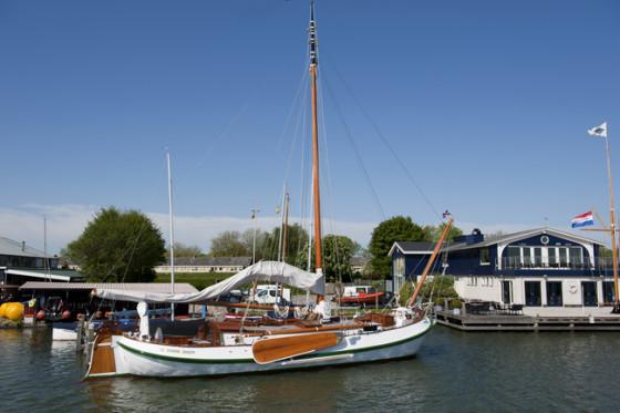 Groene Draeck royal yacht