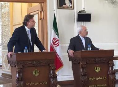 Bert Koenders on a visit to Iran in September 2015.