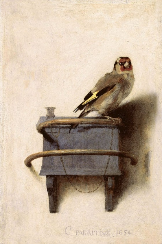 fabritius the goldfinch