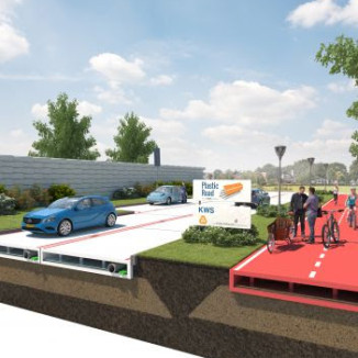 Dutch company launches plan for recycled plastic roads