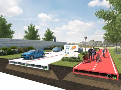 plastic roads and how they could work