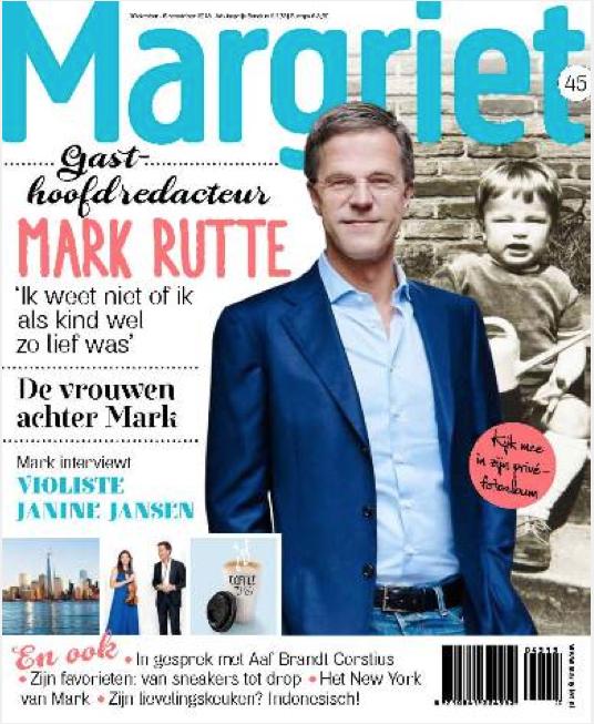 Mark Rutte Magriet