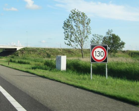 traffic sign 130