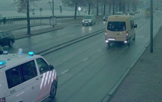 Anouk van police ambulance speeding ticket