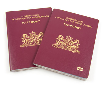 Two Dutch passport