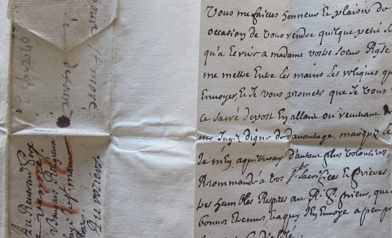 one of the letters