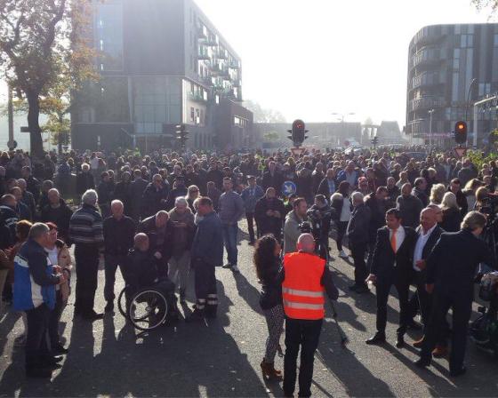 refugee demonstration enschede