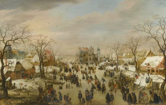 Hendrick Avercamp winter wonderland