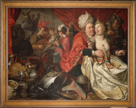 Vrouw Wereld by Jacob Waben, one of 24 artworks stolen from the Westfries Museum in Hoorn and held by a militia group in Ukraine