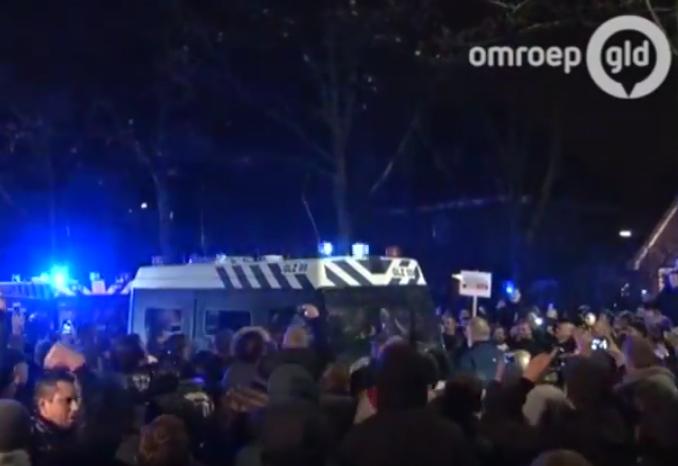 refugee riots geldermalsen