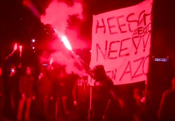 Heesch anti refugee riots