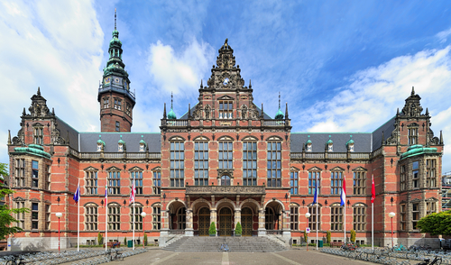 Groningen University's main admin building. Photo: Depositphotos.com