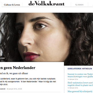 Soul searching: Volkskrant columnist Nadia Ezzeroili says she is not Dutch