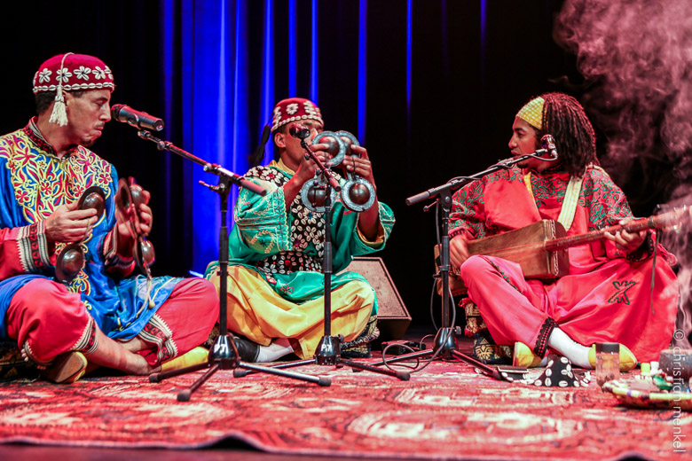 Safar Nord Sud Gnawa ensemble. Photo: Christian Menkel