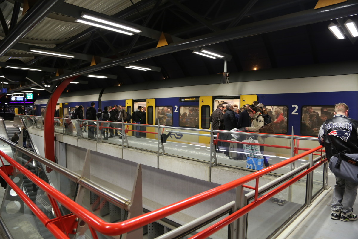Ticket to ride? Automatic gates close at three big city train stations