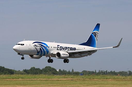 A file photograph of an EgyptAir plane. Photo: Wo st 01 / Wikimedia
