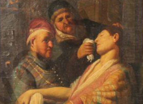 The missing Rembrandt, as it went to auction last year
