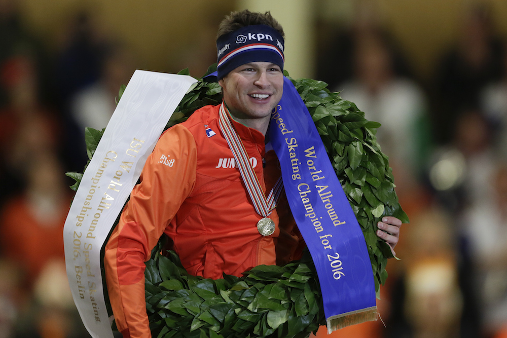 Sven Kramer takes world allround skating title for the 8th ...