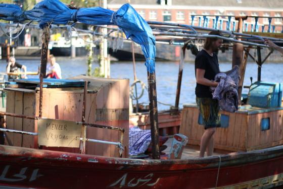 The Meneer Vrijdag boat. Photo: Graham Dockery