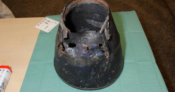 Nozzle of BUK missile found at MH17 crash site