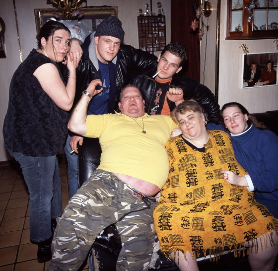The original Tokkie family, pictured in 2004. Photo: Gerard Wessel/Hollandse Hoogte