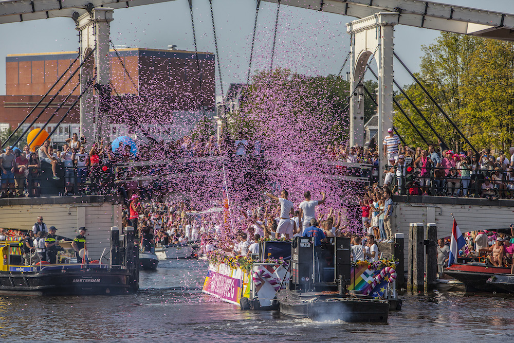 The canal parade in 2015. Photo: Amaury Miller via HH