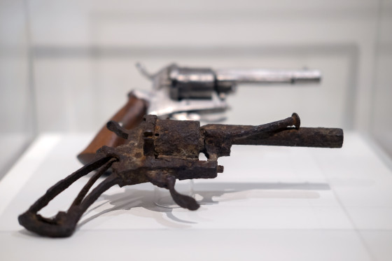 Did this gun kill Vincent van Gogh? Photo: Herman Wouters
