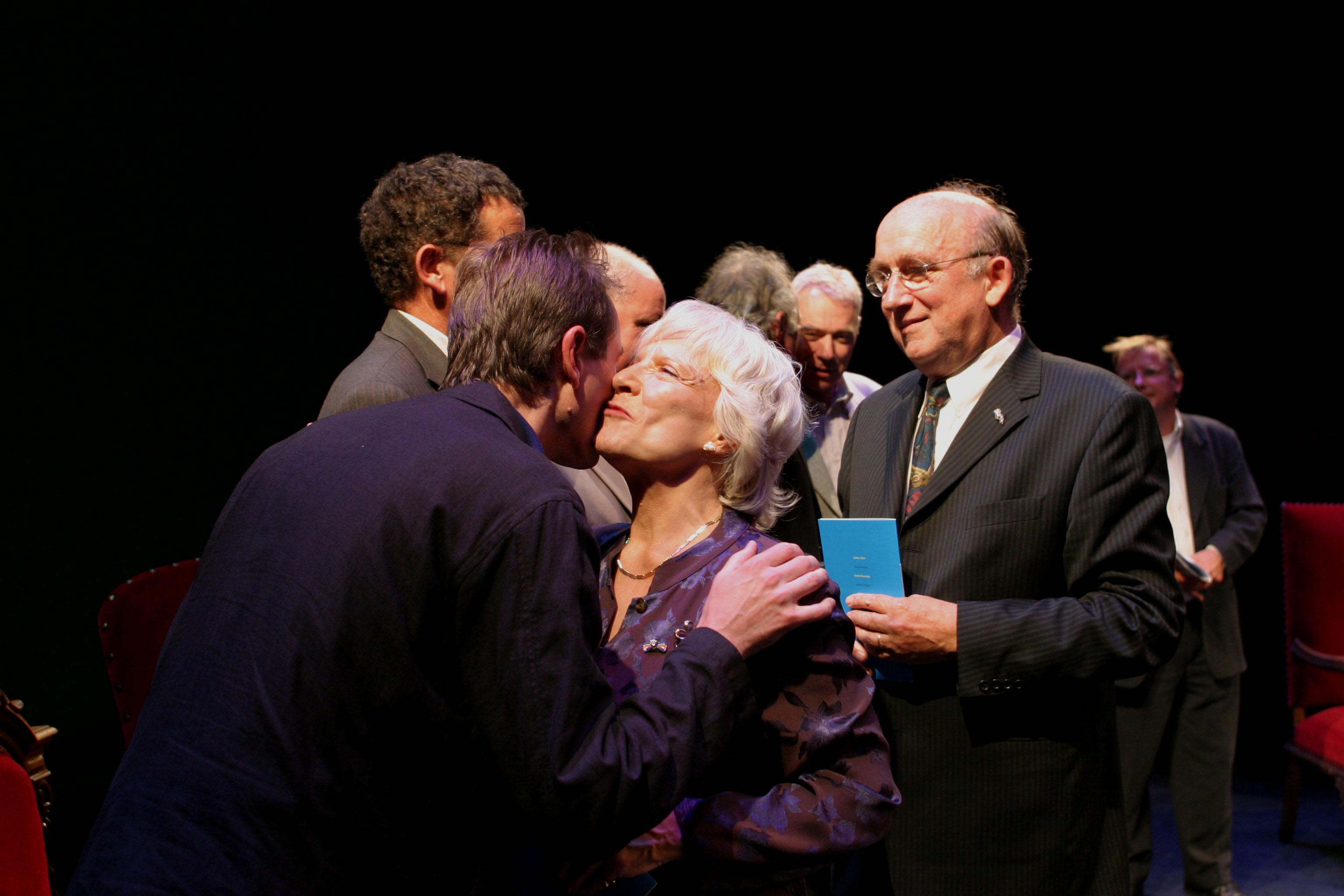 Annet Nieuwenhuyzen celebrating 50 years on stage in 2003. Photo: Bert Verhoeff/HH