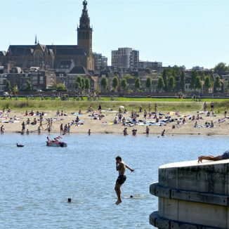 Make the most of the last days of summer with a swim in a Dutch lake