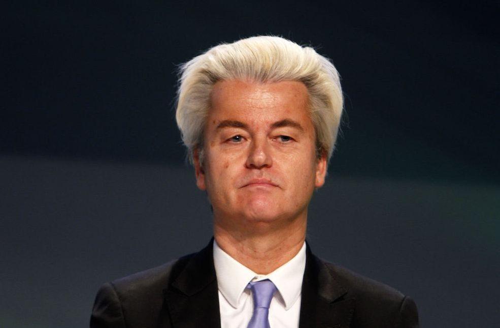 Wilders earlier this year. Photo: Franco Cavassi/AGF/SIPA