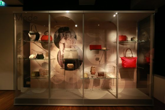 Handbag exhibition in Amsterdam's Museum of Bags and Purses