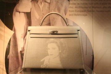 Hermes' iconic Kelly bag bears the image of Princess Grace of Monaco.