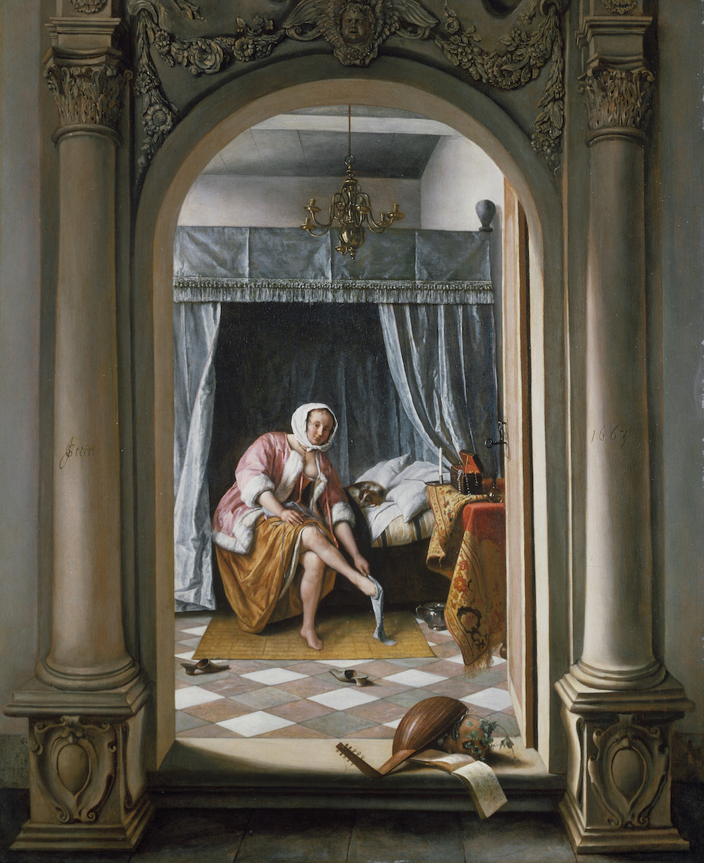Woman at her Toilet, by Jan Steen. Royal Collection Trust/© Her Majesty Queen Elizabeth II 2016