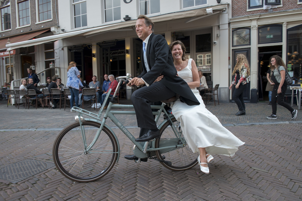 For the Dutch, wearing a bike helmet would be a cultural