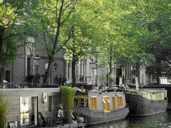 And we could not miss out on an Amsterdam canal view either.