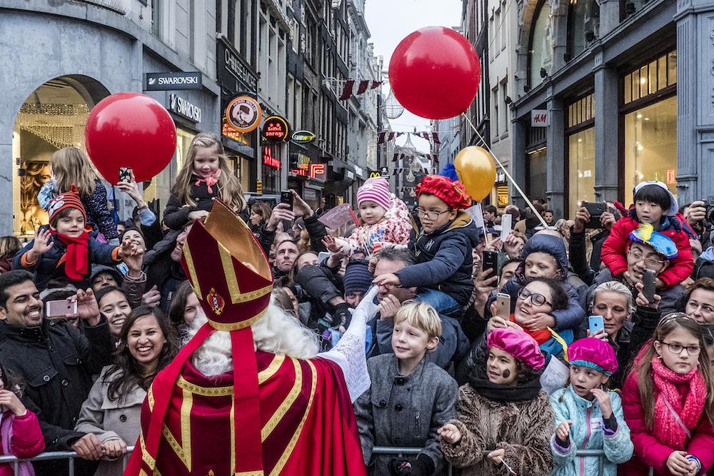 Sinterklaas in Amsterdam. Photo: Joris van Gennip/HH