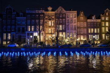 Amsterdam Light Festival brightens up dark days