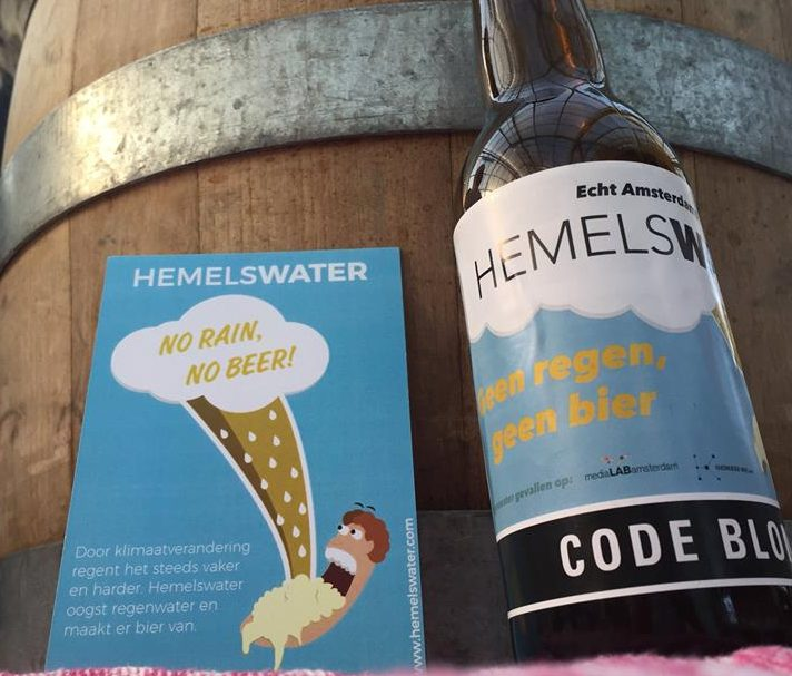 hemelswater beer from rainwater
