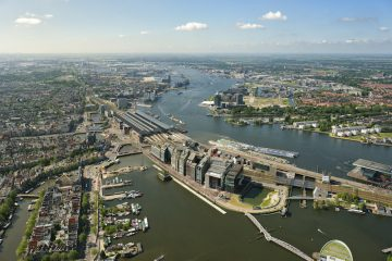 As Amsterdam rediscovers its north, should it be a tunnel or a bridge?
