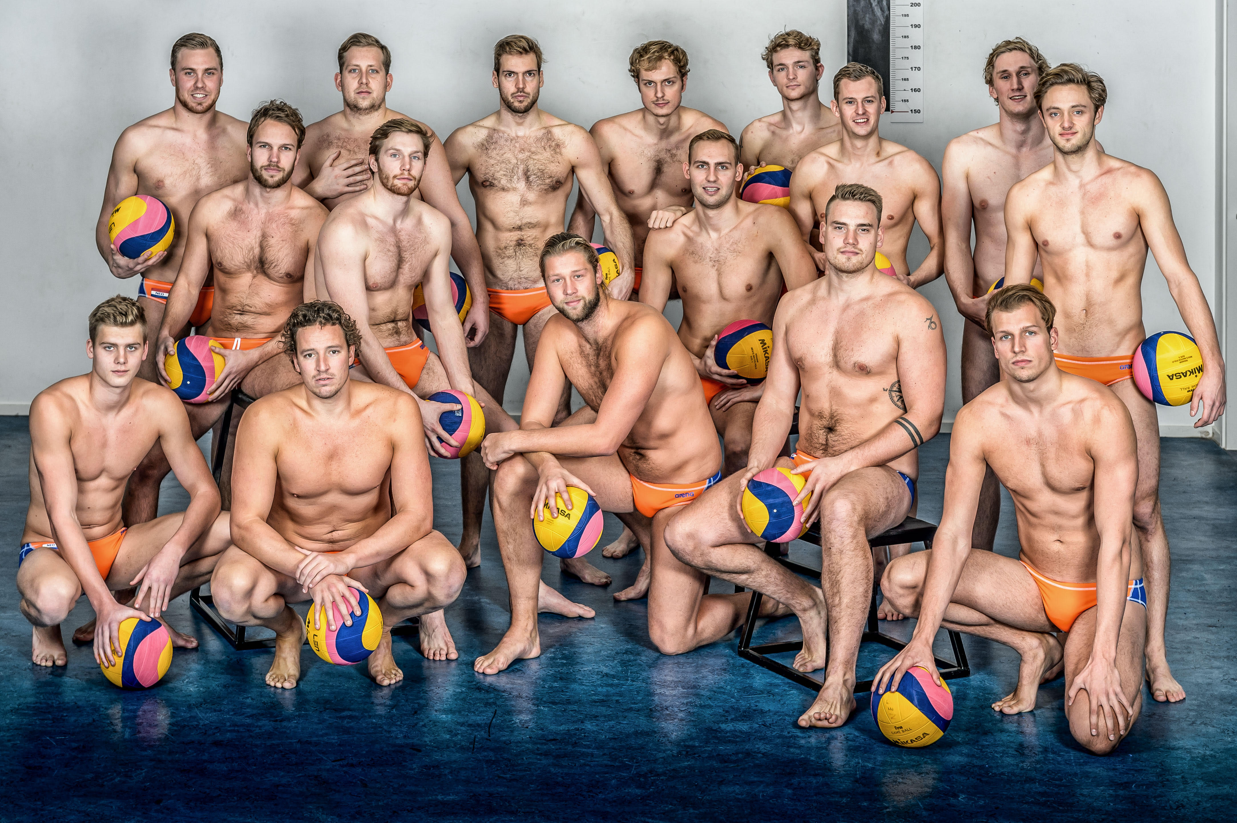 Pics amateur naked dudes water polo players