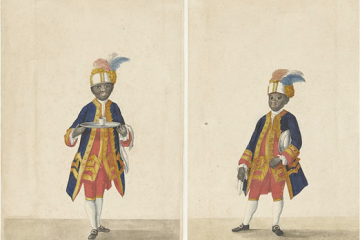 Orange and black: the forgotten history of black servants at the court of Willem V